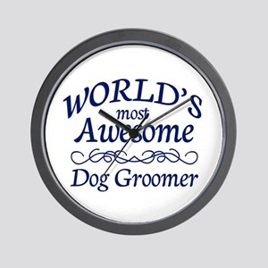Dog Groomer Wall Clock