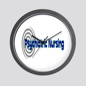 Psych Nurse Wall Clock
