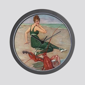 Lobster Serenade Wall Clock
