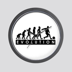 Evolution of a Soccer Player Wall Clock