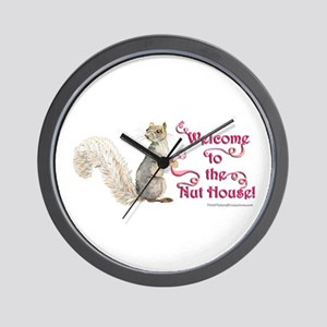 Squirrel Nut House Wall Clock