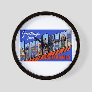 Long Beach Ca Wall Clocks - CafePress