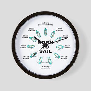 Yacht Wall Clocks Cafepress