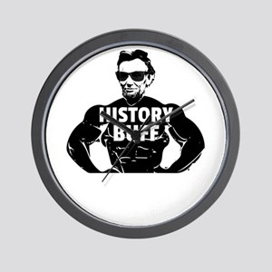 Abraham Lincoln History Buff Gift Wall Clock