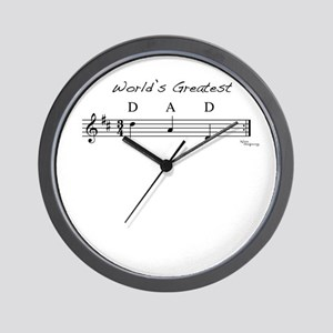 World's Greatest Dad Wall Clock
