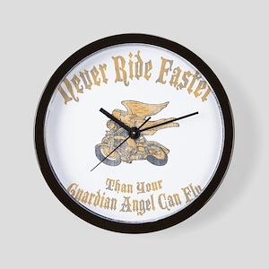 Motorcycle Sayings Wall Clocks - CafePress