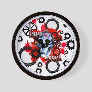 b285142ef F Girl Standard Wall Clocks - CafePress