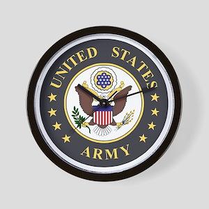 Military Emblems Wall Clocks - CafePress
