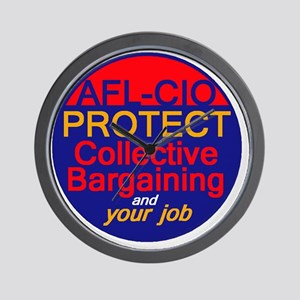 Collective Bargaining Wall Clock