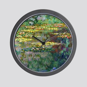 Shower Monet Le Bassin Wall Clock