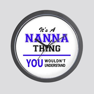 It's NANNA thing, you wouldn't understa Wall Clock
