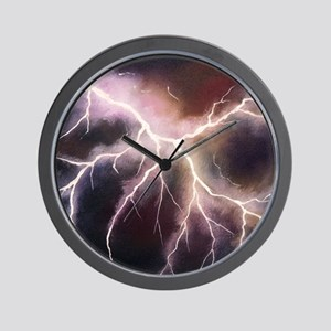 'Lightning' Wall Clock