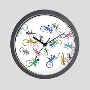 c18f2125e Gecko Wall Clocks - CafePress