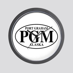 Port Graham Wall Clock