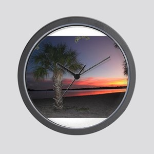 A Florida Sunset Wall Clock
