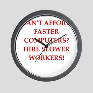 employer Wall Clock