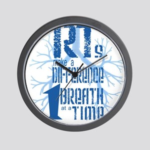 RT-Difference-blue Wall Clock