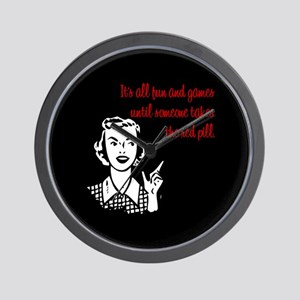 It's All Fun & Games Wall Clock