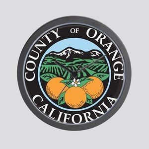 Orange County Seal Wall Clock