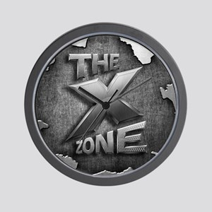 The X Zone Logo Steel Box_8x8 Wall Clock