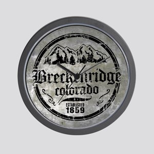 Breckenridge Colorado Wall Clock