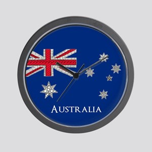 Personalisable Artistic Decorative Aust Wall Clock