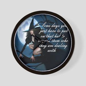 Witch Wall Clocks - CafePress