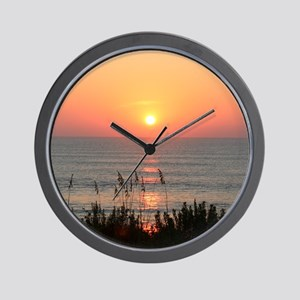 Outer Banks Sunrise Wall Clock