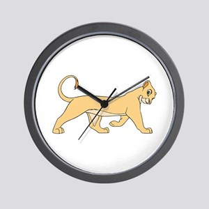The Lion King lioness Wall Clock