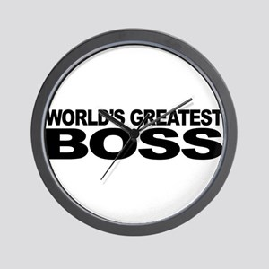 World's Greatest Boss Wall Clock