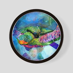 sea turtle full Wall Clock