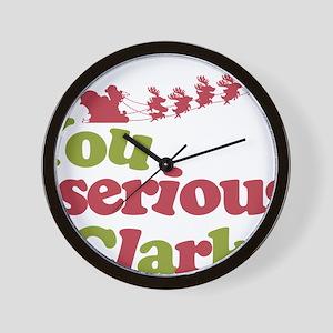 seriousclark Wall Clock