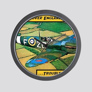 Spitfire - Trouble Brewing! Wall Clock