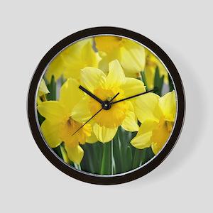 Trumpet Daffodil Wall Clock