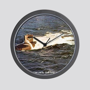 jack framed panel print Wall Clock