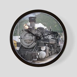 Steam train engine Silverton, Colorado, Wall Clock