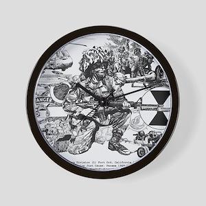 mini poster print Wall Clock