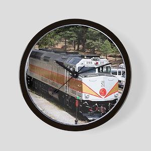 Railway Locomotive, Grand Canyon, Arizo Wall Clock