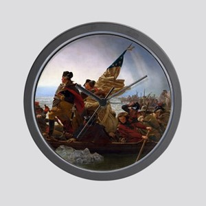 Washington Crossing the Delaware Wall Clock