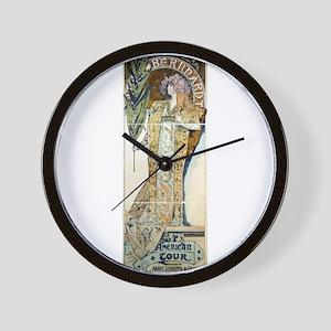 Bernhardt American Tour - Alphonse Mucha - 1896 -