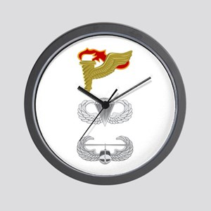 Pathfinder Airborne Air Assault Wall Clock