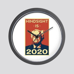 Bernie Sanders Hindsight is 2020 Wall Clock