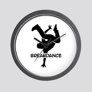 Breakdance Wall Clock