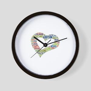 heart fulfilled Wall Clock