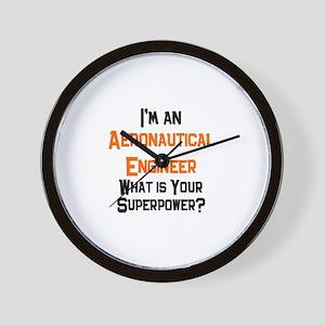 aeronautical engineer Wall Clock
