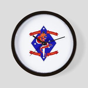 1st Battalion - 4th Marines Wall Clock