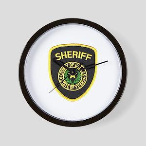 Dallas County Sheriff Wall Clock
