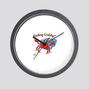 Feeling Crabby? Wall Clock