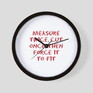 measure force Wall Clock