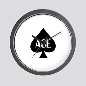 Ace Kicker Wall Clock